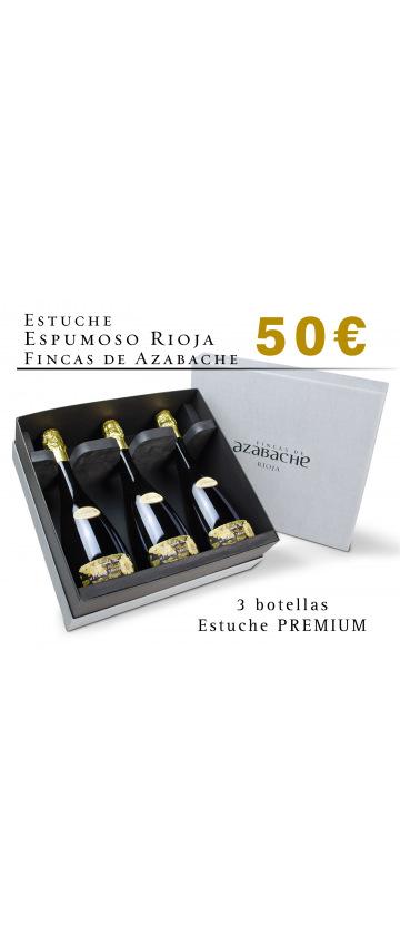 Estuche Espumoso Rioja Fincas de Azabache