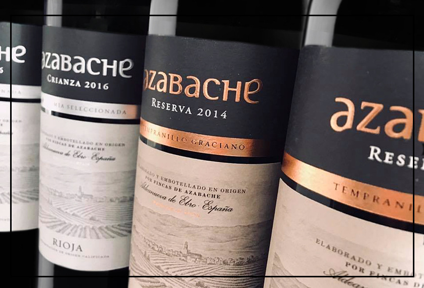 NEW CRIANZA AND RESERVA AZABACHE WINES